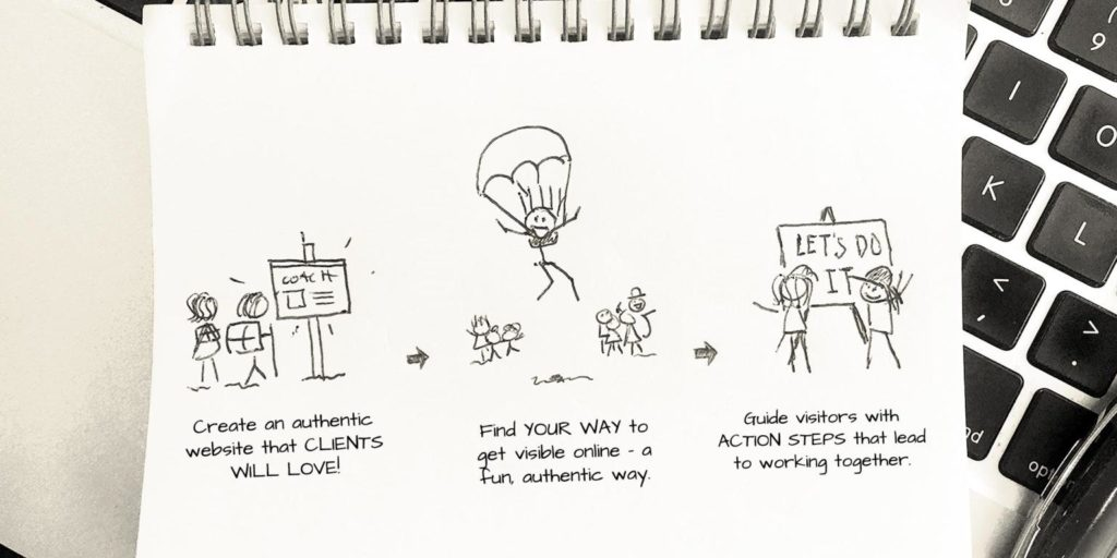 Chicken Scratch Secrets to Getting Clients From Your Website