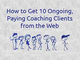 get paying coaching clients