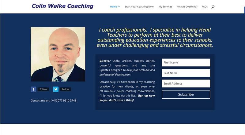 coach website example 1