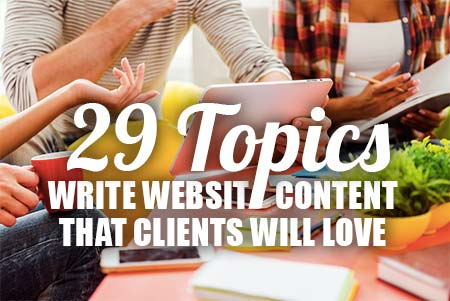 How to Write Website Content for Coaches – 29 Topics Clients Love