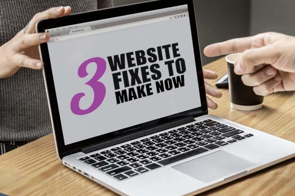 3 coaching website fixes to make