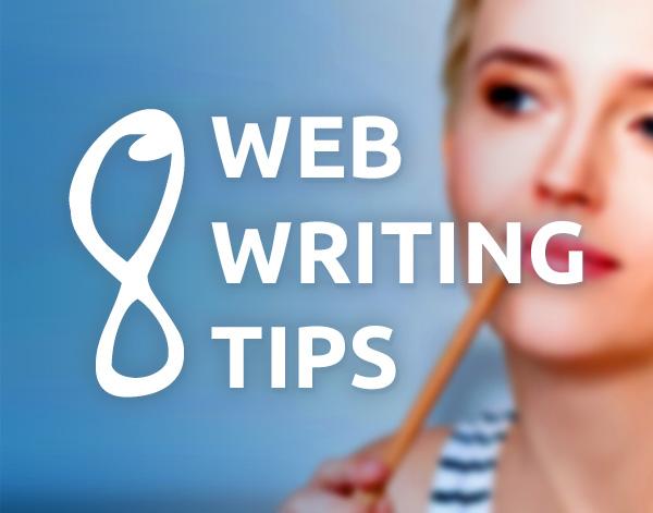 8 web writing tips