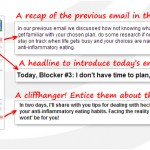 Attracting Clients Online - The Enlightening Email Series