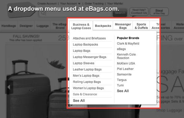 Coaching Website Mistake - Using Dropdown Menus