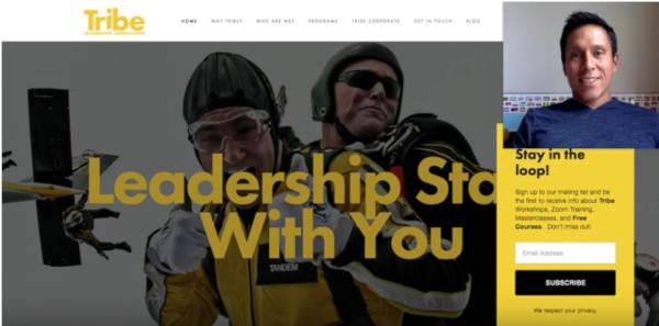 Coaching Website Review – Business Leadership Coach Raelene