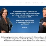 business coach website after