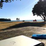 beach-desk