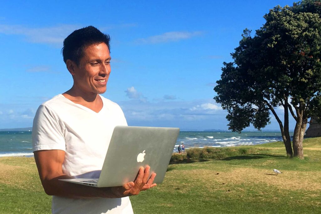Attracting Coaching Clients With Your Website and The Work-at-Beach Mismatch