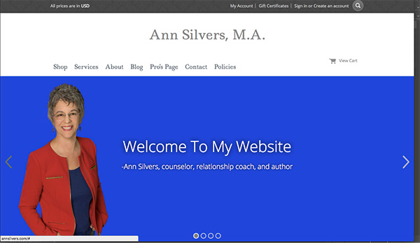 coaching website for ann