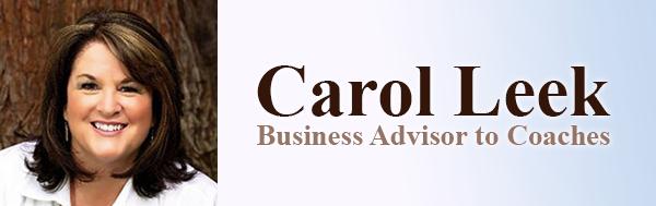 Business Advisor for Coaches - Carol Leek