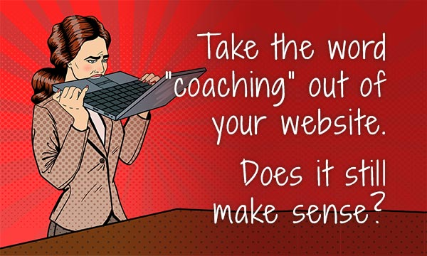 coaching website mistake test