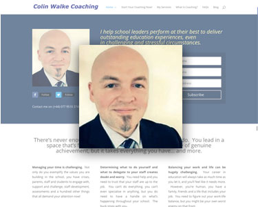 coach colin website