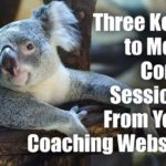 Three Keys to More Comp Sessions from Your Coaching Website