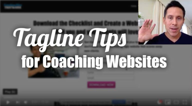 Tagline Tips for Coaching Websites