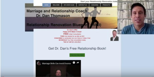 Coaching Website Review – Dan Thomason – Marriage and Relationship Coach