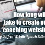 Coaching Website Launch Time Estimator