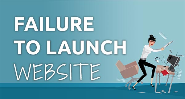 coaching website mistake - failure to launch