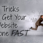 get website done fast