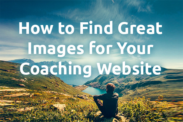 find great images for coaching website
