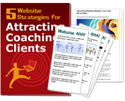 5 Website Strategies for Attracting Coaching Clients