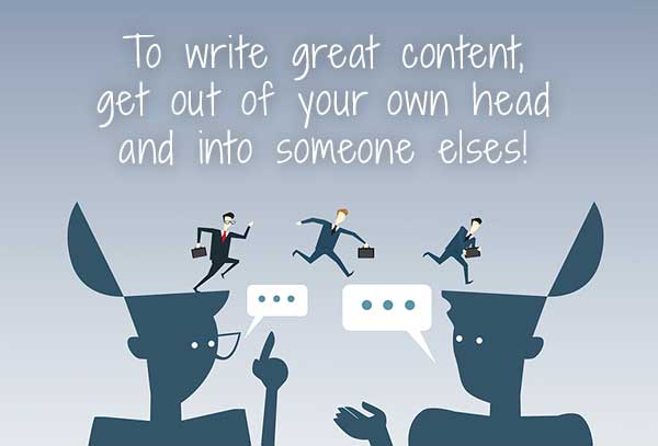 to write great copy get out of your head