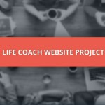 Life Coach Website Project - People and coffee at a table