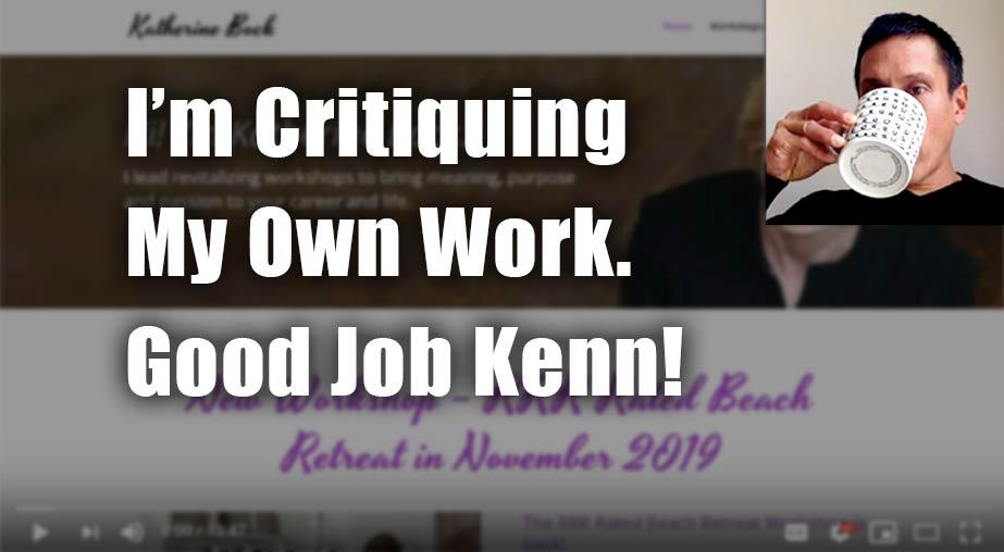 Executive Coach Website Review – Katherine Bock
