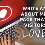about me pages that visitors love