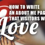 About Me Page Visitors Will Love