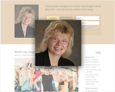 career coach website - mary franz