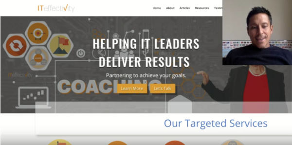 Coaching Website Review – Mary Patry – Business Strategist in Technology