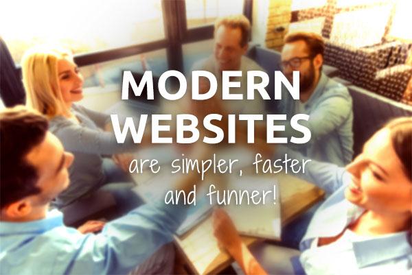 modern coaching website design
