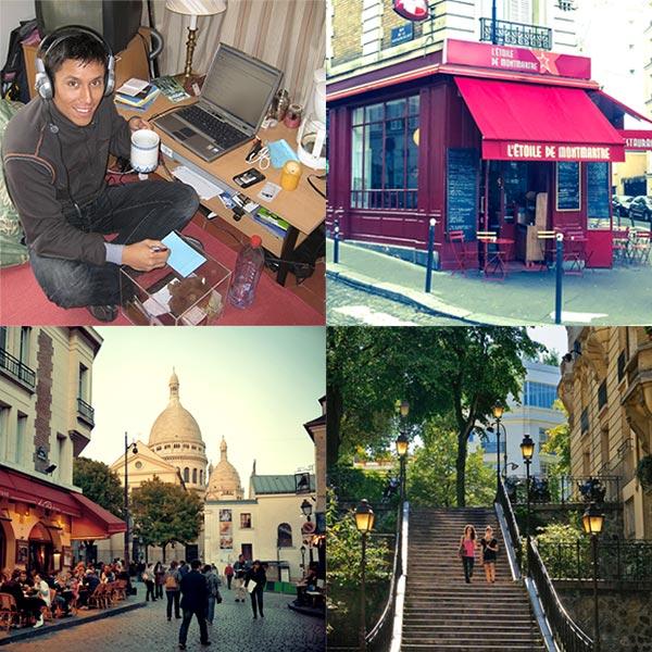 paris office and neighborhood