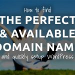 perfect and available domain name