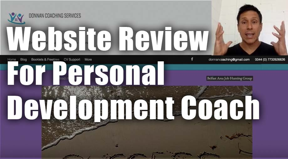 Website Review for Personal Development Coach Paula