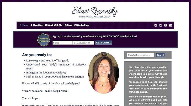 coach website for shari
