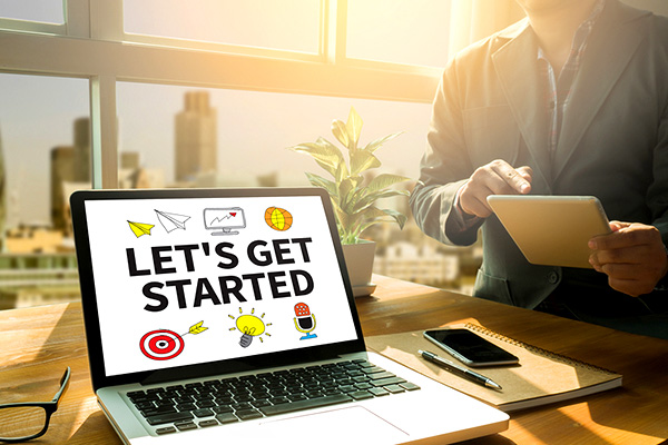 get started on your website