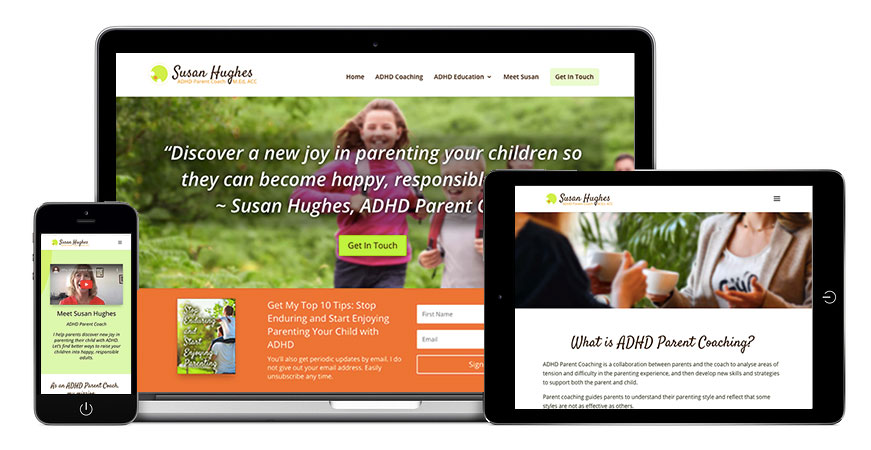 ADHD Parent Coach - Suan Hughes