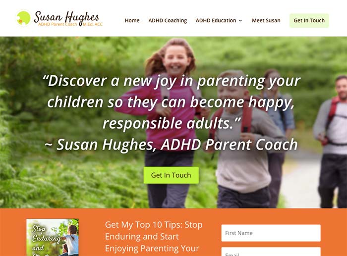 Susan Hughes - ADHD Parent Coach