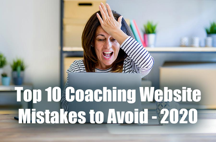 Top 10 Coaching Website Mistakes