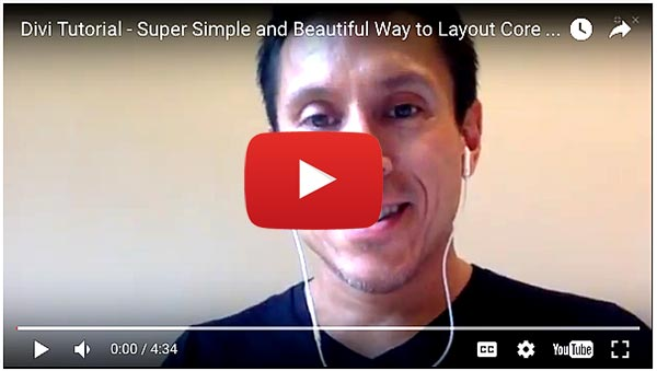 Divi Tutorial – Sweet Simple 3 Column Content Layout