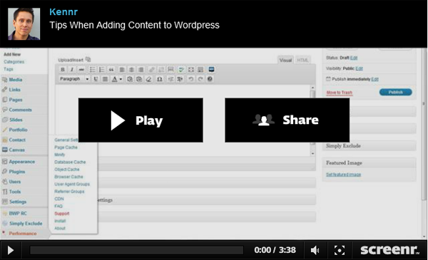 Five Tips When Adding Content to WordPress