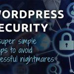 wordpress security 5 steps